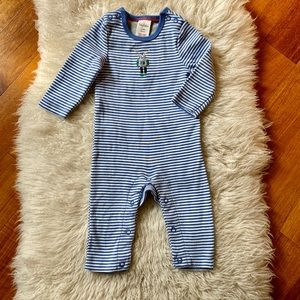 Baby Boden Robot Coverall